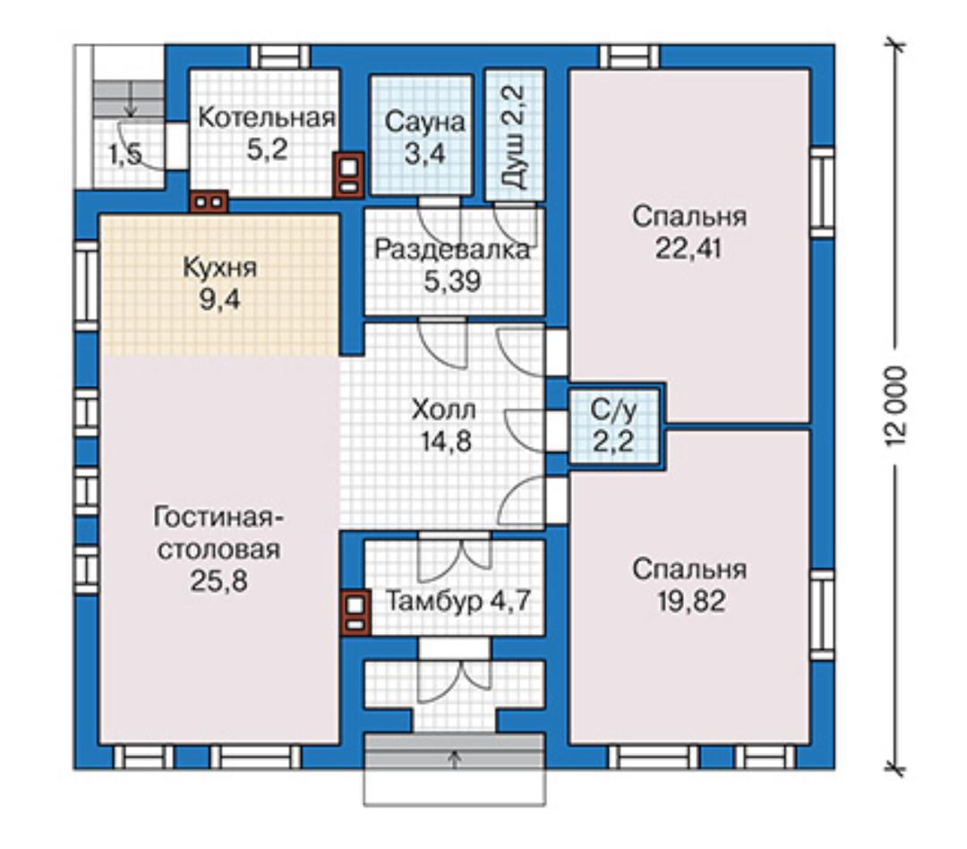 План этажа 46-08