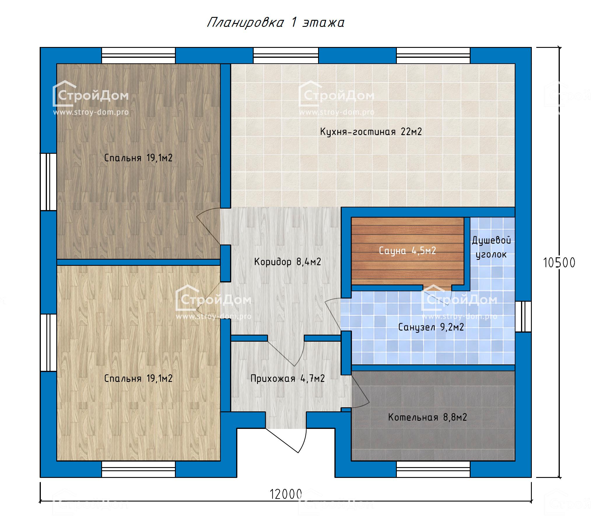 Планировка 1эт дома (2)
